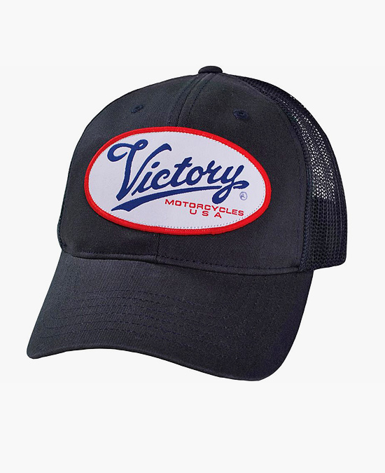 Victory Trucker Script Logo Hat/кепка