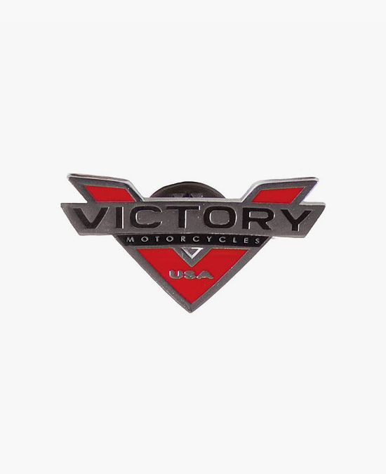 Victory Logo V-Pin Badge/значок