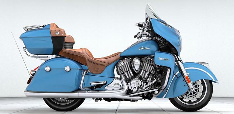 Indian Roadmaster Blue