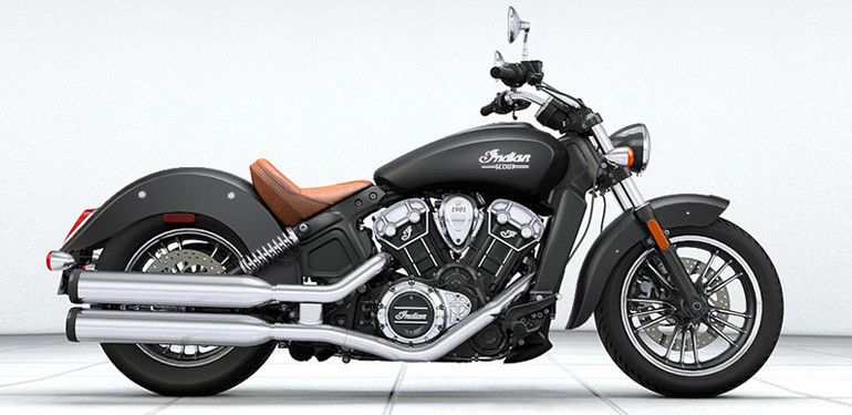 Indian Scout Black