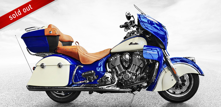 Indian Roadmaster Blue/Cream