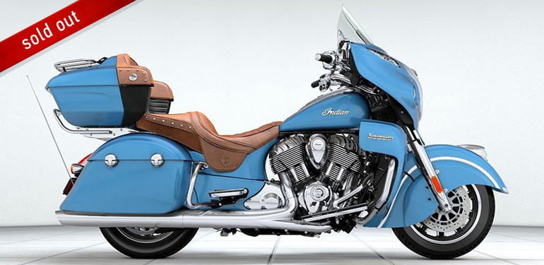 Indian Roadmaster Blue