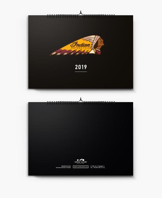 Календарь Indian 2019