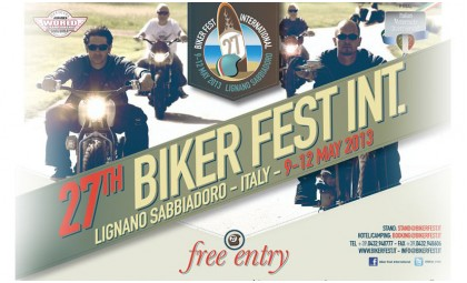 9 — 12 мая 2013.  Италия, Lignano Sabbiadoro. International Biker Fest