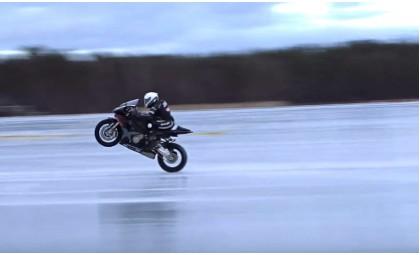 В книге рекордов Гиннесса появился новый мотоциклетный рекорд