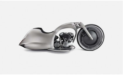 Футуристический кастом байк Full Moon от словенского Dreamachine Motorcycles