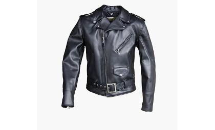 Кожаные байкерские куртки для стильных райдеров