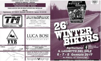 Зимний слет байкров Winter Bikers Faenza в Италии