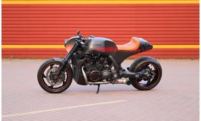 Кастом проект KOMAHA на базе серийного мотоцикла Yamaha V-Max