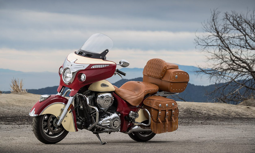 Новый Roadmaster Classic от легендарного бренда Indian