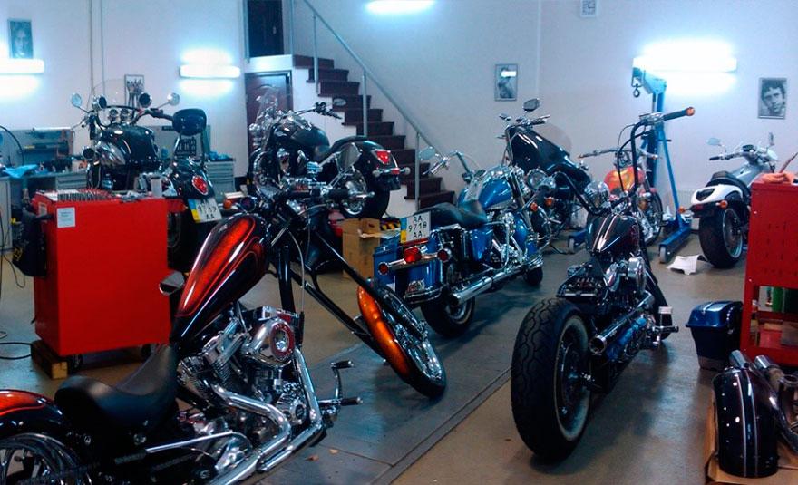 Тюнинг мотоциклов в осенне-зимний период