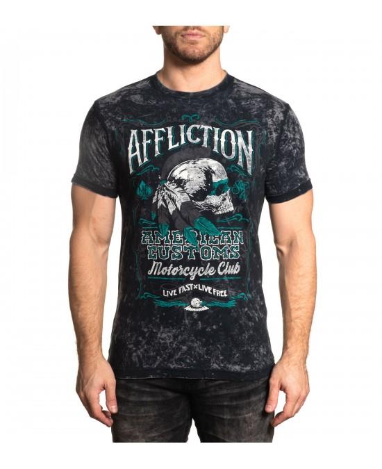 Affliction AC Native Rye S/S Rev. Tee