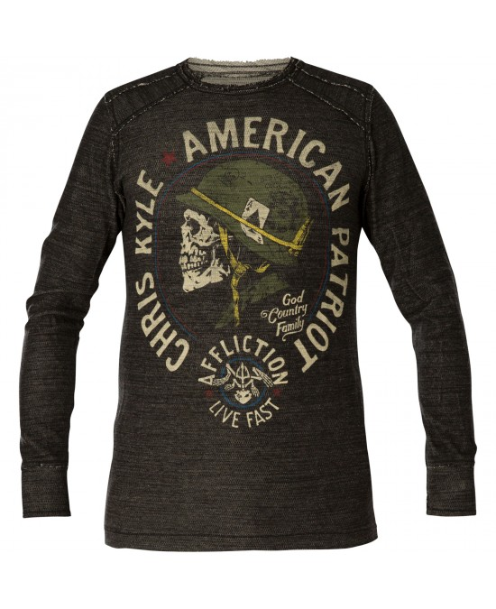 Affliction CK Old Glory L/S Rev.Thermal Tee