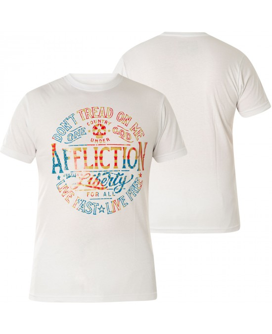 Affliction Liberty For All S/S Tee