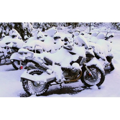 Winter motorcycle preservation