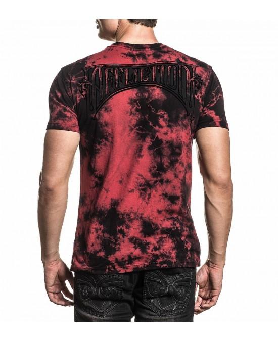Affliction Cast Fleur S/S Tee/футболка мужская