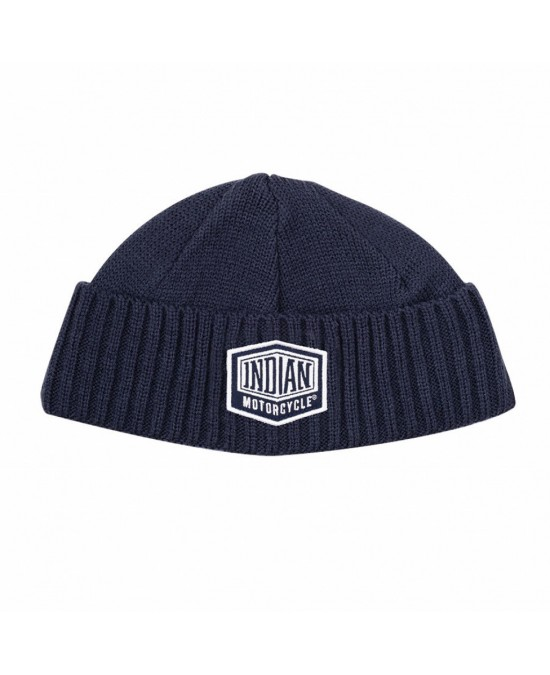 Indian Shield Patch Beanie