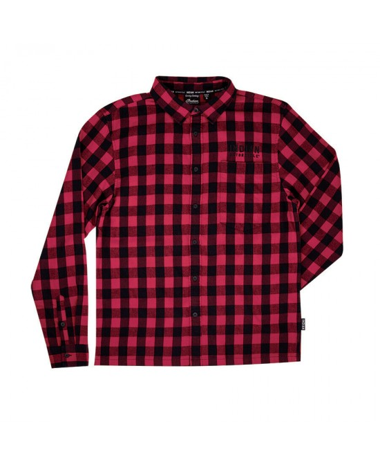 Indian Red Buffalo Plaid L/S Shirt/рубашка