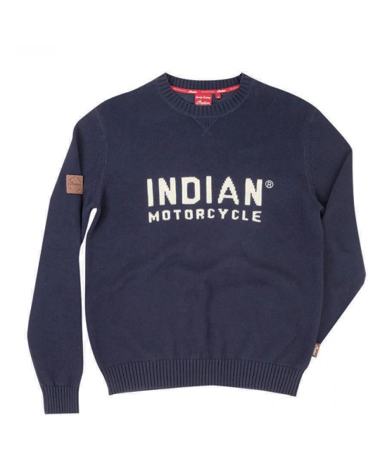 Indian Block Logo Knit/свитер