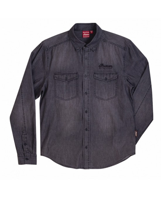 Indian Washed Denim Shirt