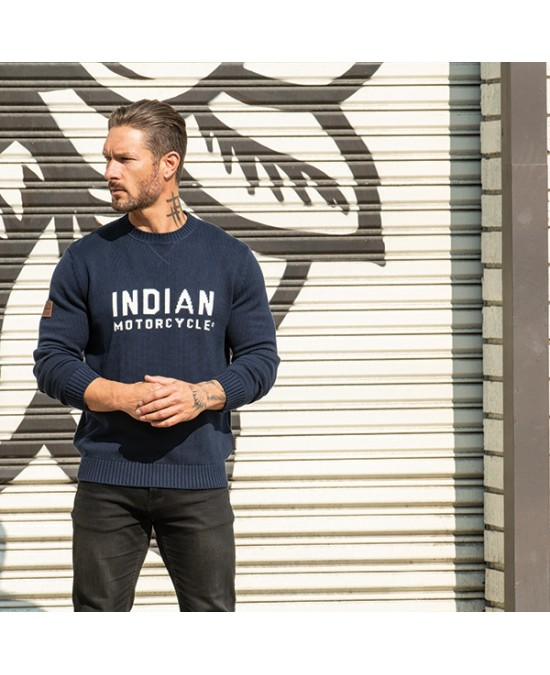 Indian Block Logo Knit