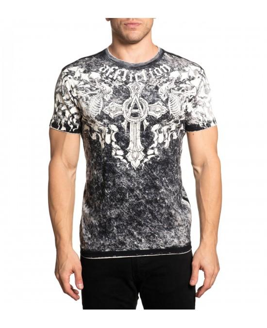 Affliction Bias S/S Rev. Tee/футболка мужская