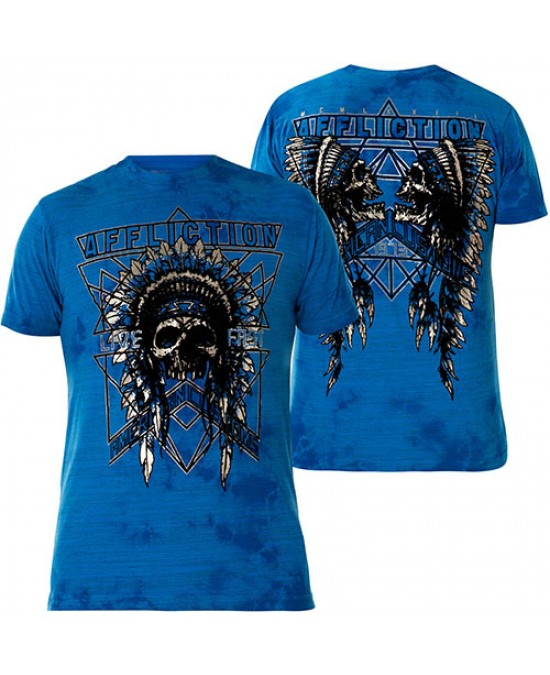 Affliction AC Devil Trail S/S Tee/футболка мужская