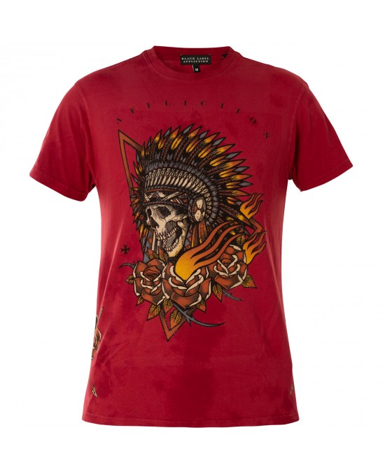 Affliction Sacred Smoke S/S Tee/футболка мужская