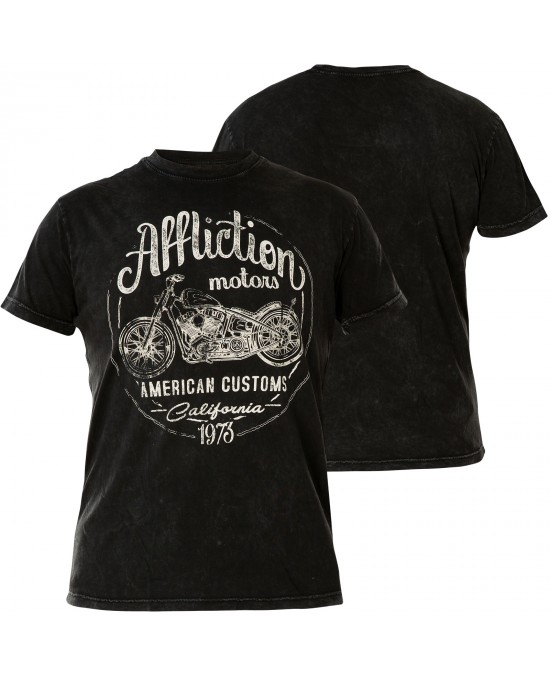 Affliction AC Iron Rider S/S Tee/футболка мужская