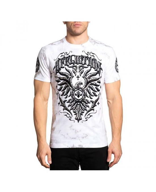 Affliction Concrete & Fire S/S Tee/футболка мужская