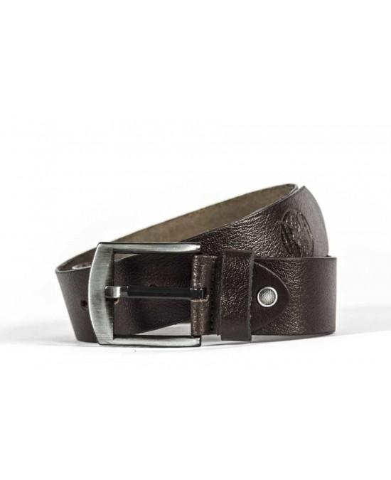 Biker Jeans Leather Belt