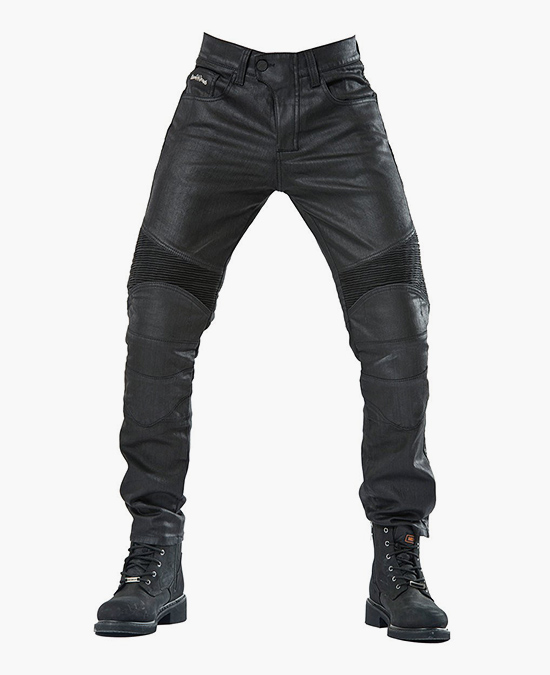 Biker Jeans Black Iron Flexi