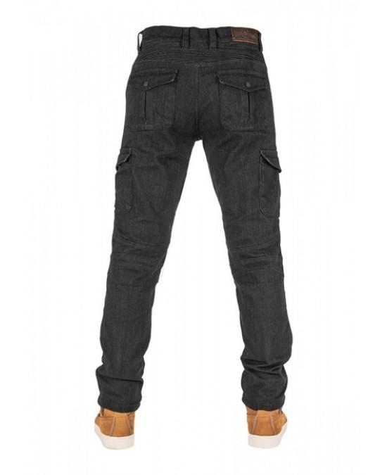 Biker Jeans Black Adventure Flexi V2