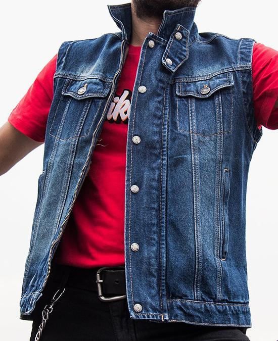 Biker Jeans Rodeo Blue Vest