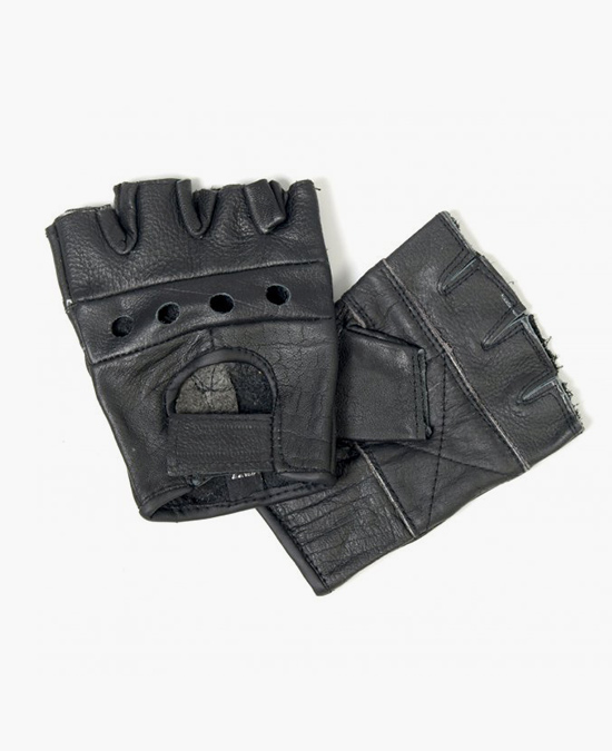 Hot Leathers Gloves Fingerless