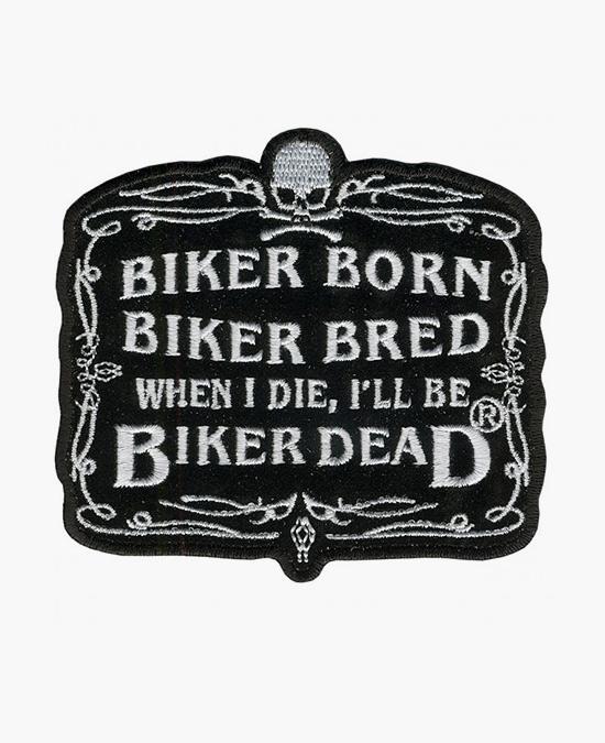 Hot Leathers Patch Biker Born/нашивка