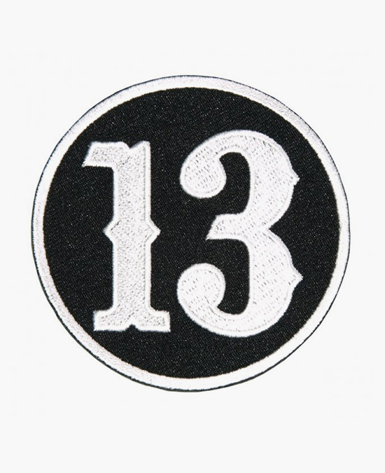 Hot Leathers Patch Circle 13