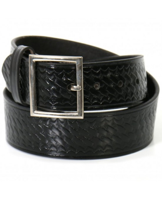 Hot Leathers Belt Basket Weave Garrison