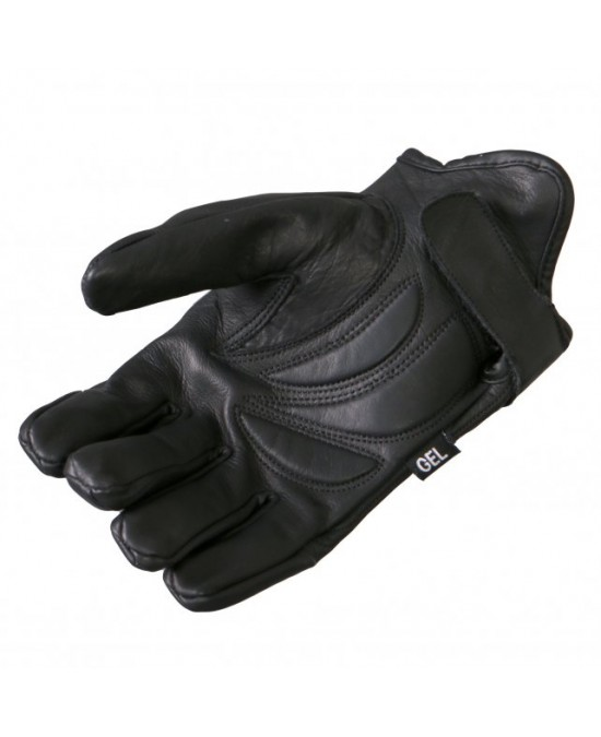 Hot Leathers Gloves Gel Palm