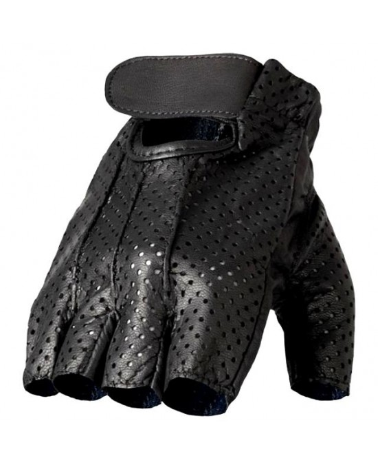Hot Leathers Gloves Fingerless Vented/перчатки