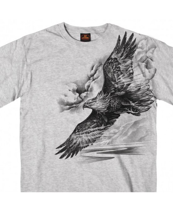 Hot Leathers Pencil Eagle T-shirt
