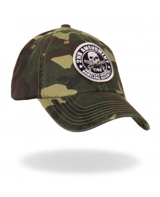 Hot Leathers 2nd Amendment Ball Cap/кепка