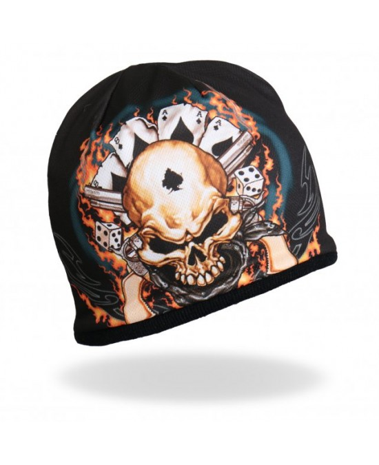 Hot Leathers Sublimated Dead Man Beanie