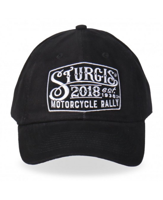 Hot Leathers Cap 2018 Sturgis Motorcycle Rally Sturgis Sign/кепка
