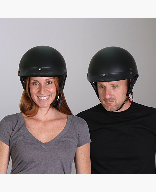 Hot Leathers Helmet Dot Flat/шлем
