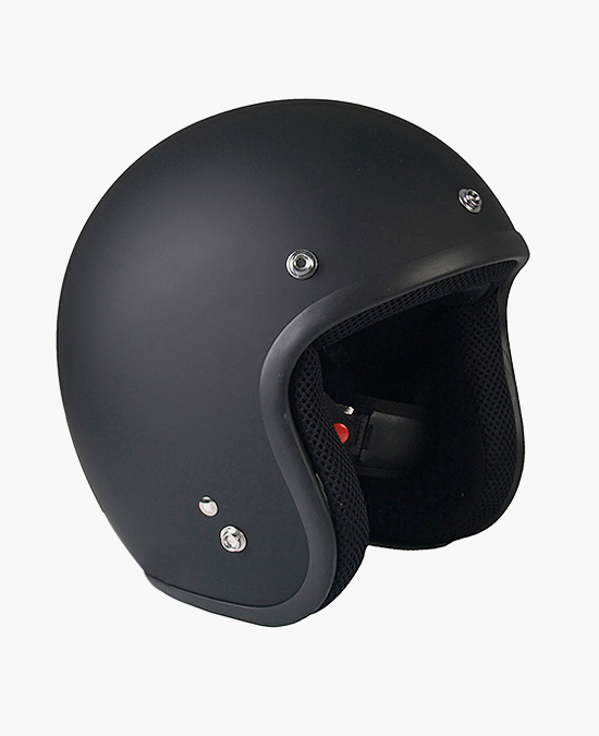 Hot Leathers Helmet DOT Open Face