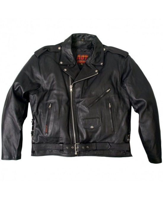 Hot Leathers Classic Motorcycle Jacket
