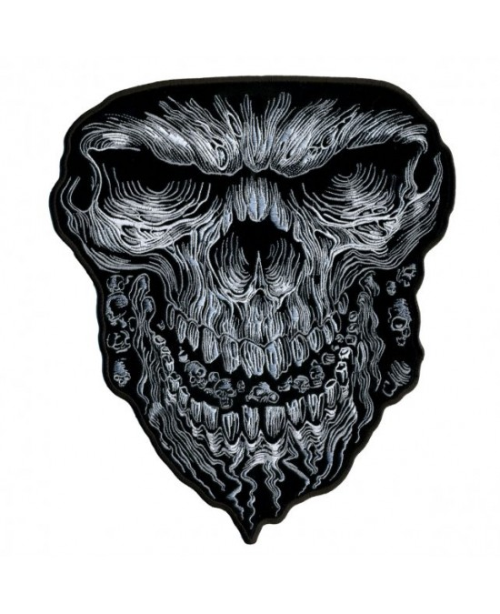 Hot Leathers Patch Giant Skull