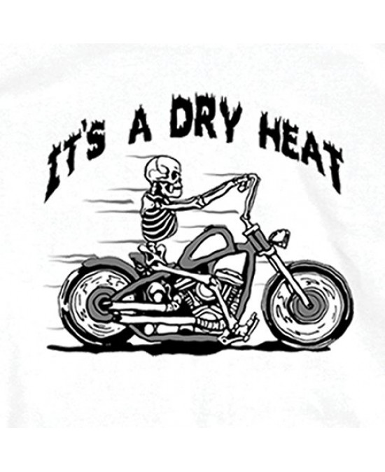 Hot Leathers Skeleton Cycle T-shirt/футболка мужская