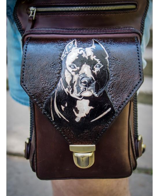 SmyrnovLeather сумка набедренная Стаф